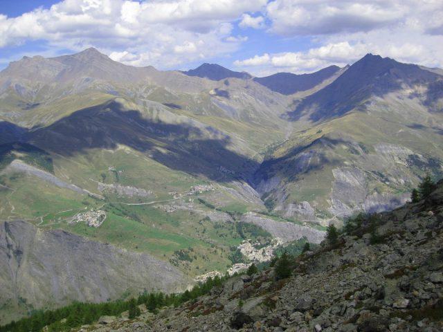 Vue du Lac de Puy Vachier La Grave