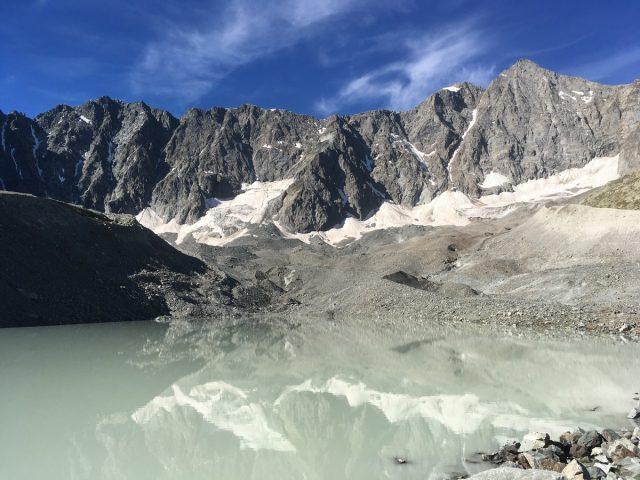 Lac glaciaire d'Arsine
