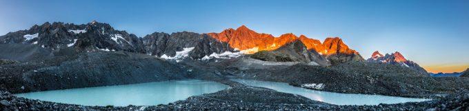 Lacs d'Arsine Parc national des Ecrins
