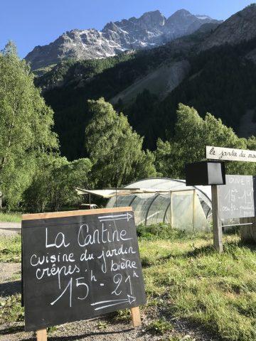 Repas fermier Jardin du Moulin