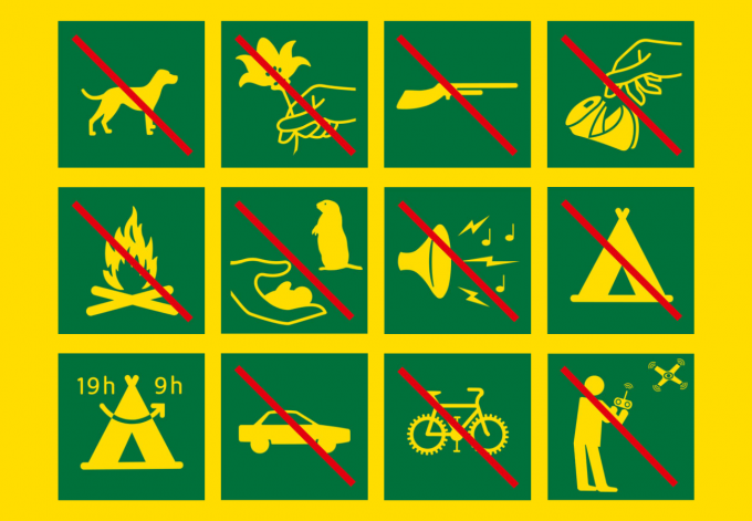 Réglementation du Parc des Ecrins