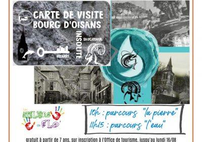 Découverte insolite du Bourg d'Oisans sur la thématique de l'eau