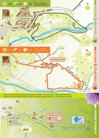 Carte sentier ethnobotaniques