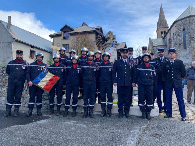 Les sapeurs-pompiers du Pays de La Meije