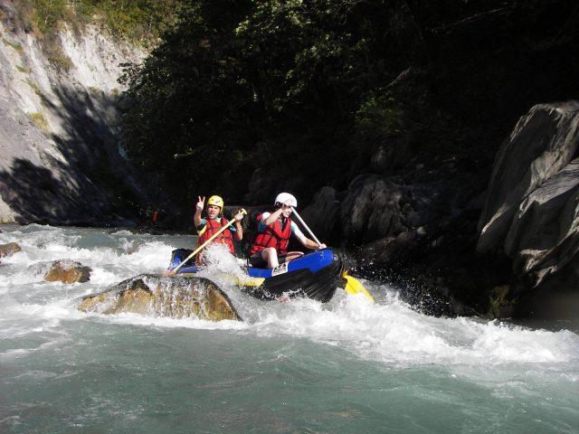 integral rafting hot dog gorges Bonne2.JPG