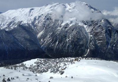 Trail Blanc : Lac du Langaret