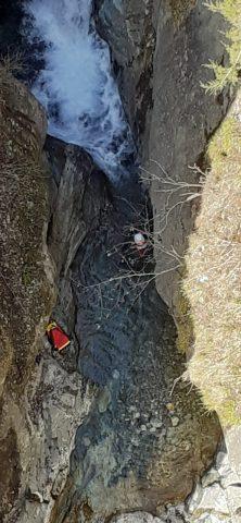Canyon du Diable St Christophe en Oisans