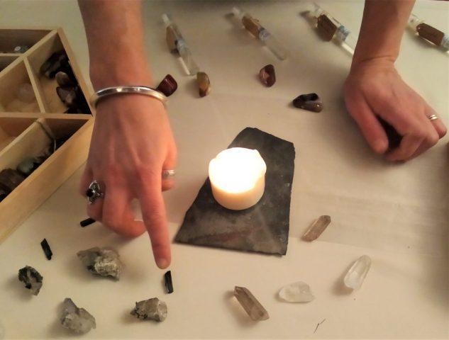Atelier pierres Laetitia