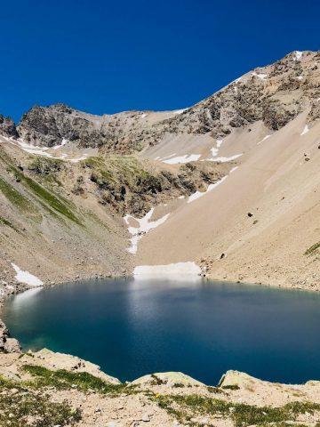 Le lac du Combeynot – Horizons