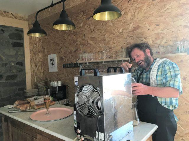 Bière de pression au Jardin du Moulin