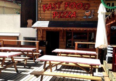 Restaurant Le Chalet à pizza
