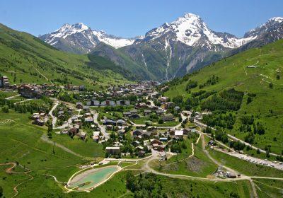 La montée des 2 Alpes