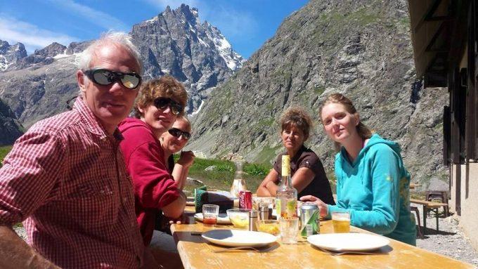 Un bon repas en alpage !