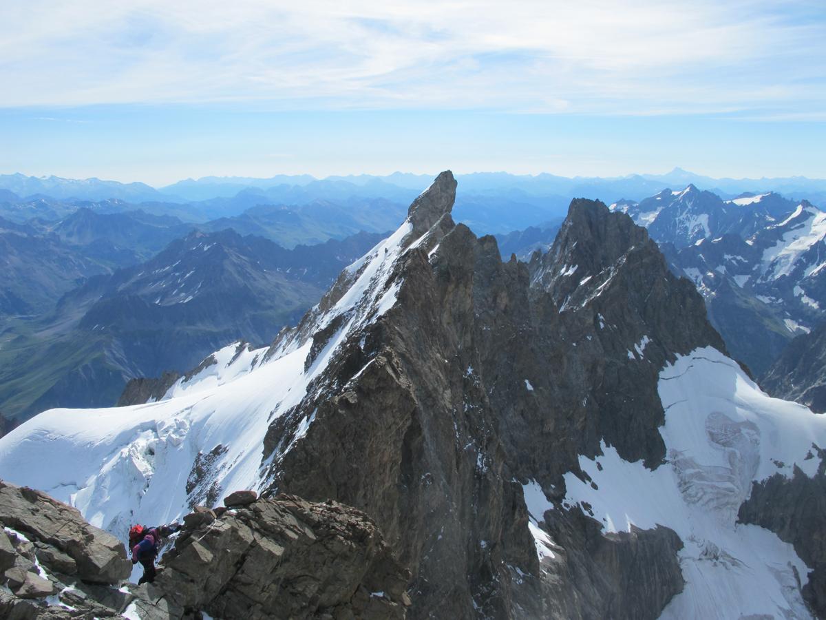 Alpinisme et escalade dans le Massif des Ecrins