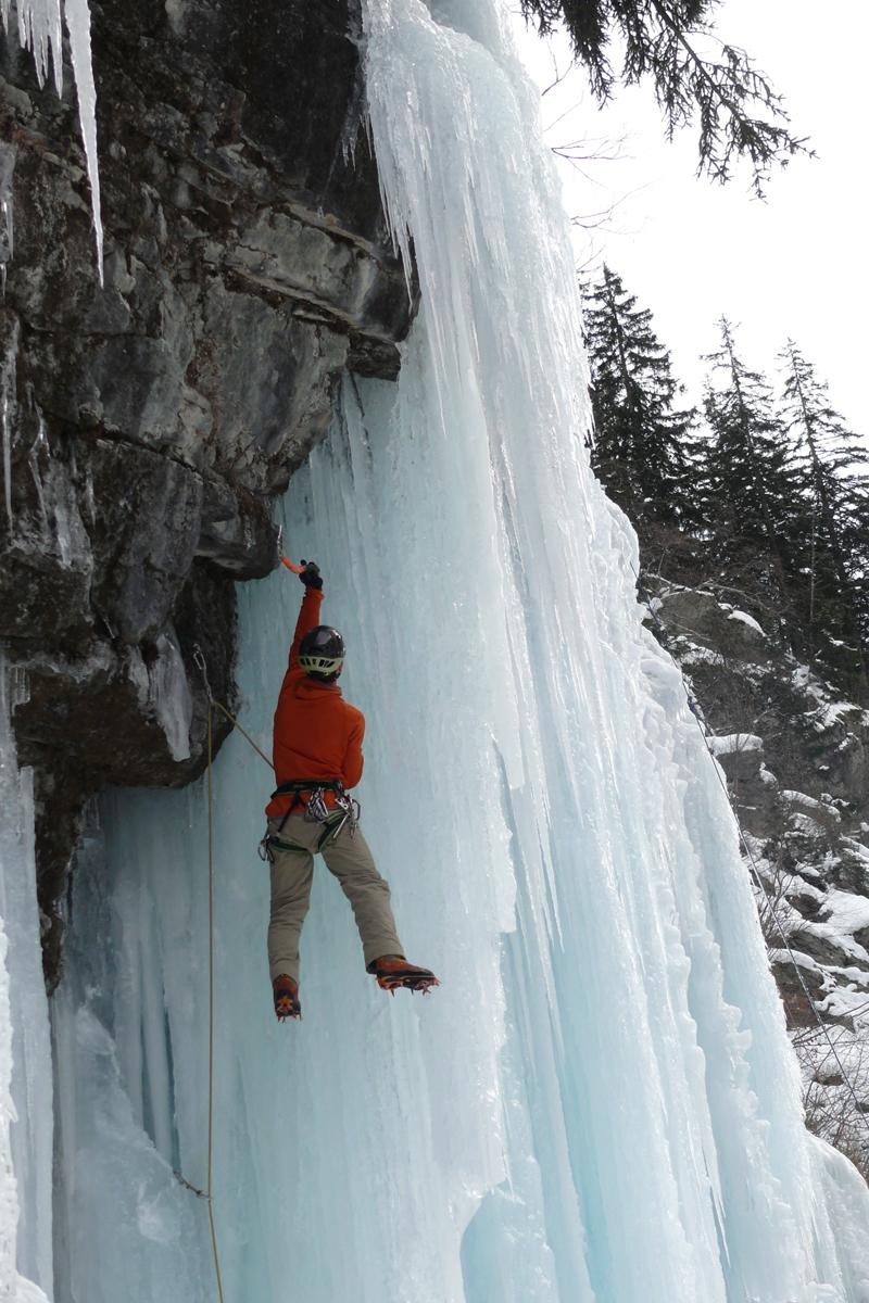 Cascades de glace dans la Vallée du Vénéon (2)