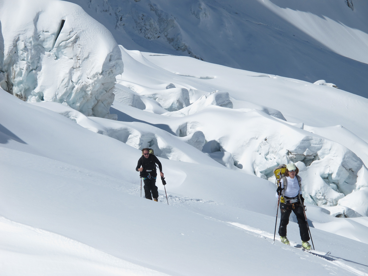 Ski de randonnée en Meije Ecrins