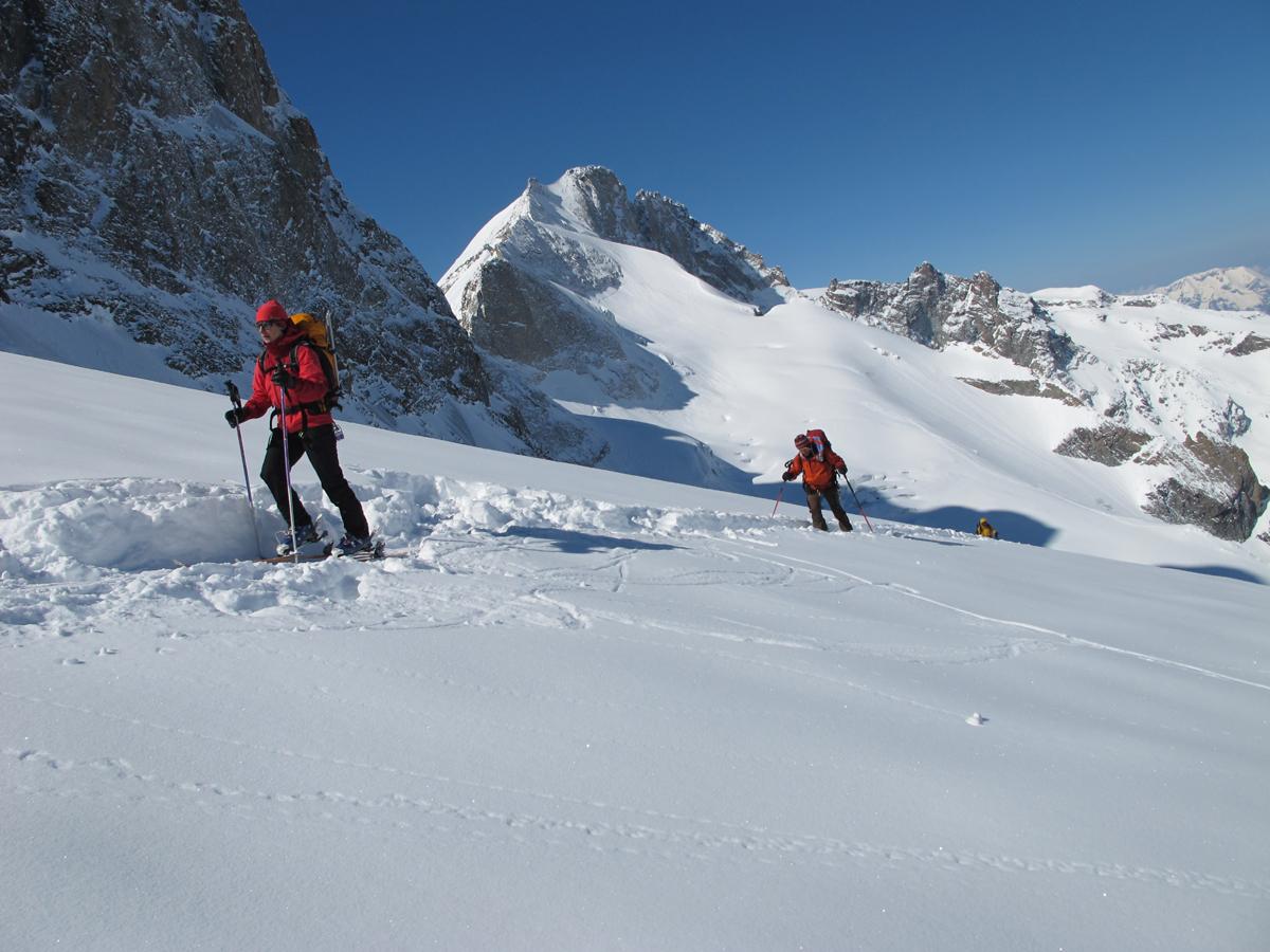 Ski de randonnée en Meije Ecrins (1)