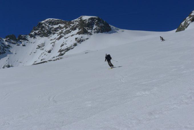Descente du Col de la Lavey