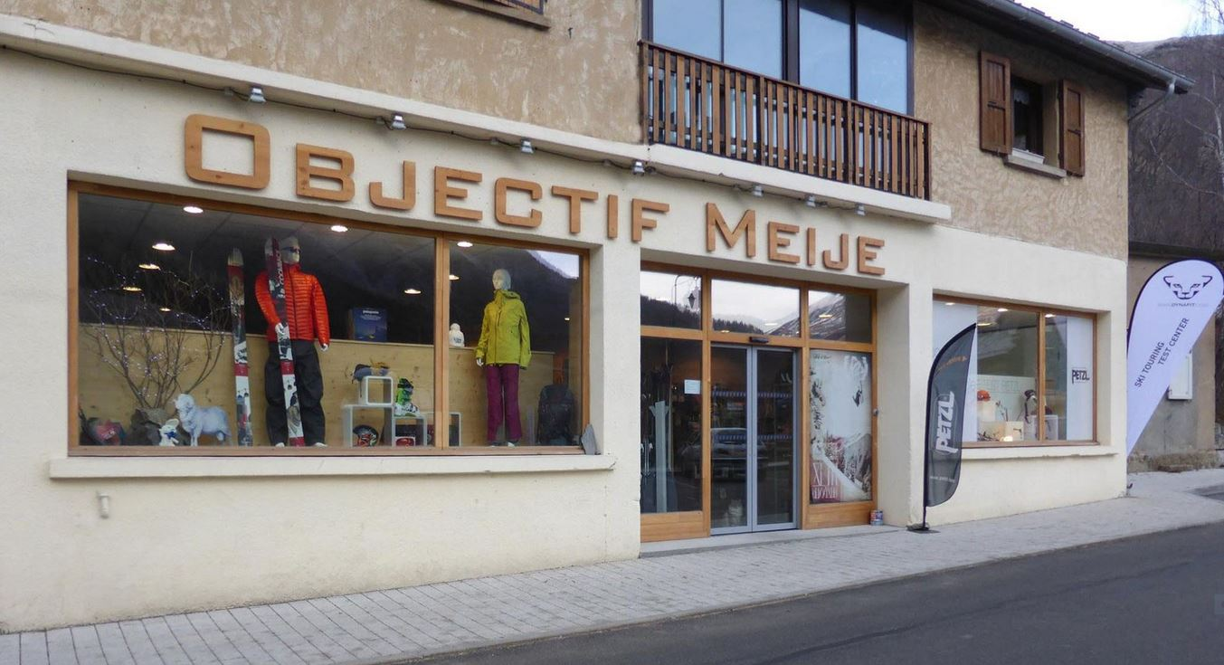 Magasin de sports – Objectif Meije