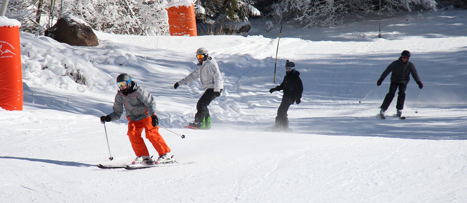 Cours de ski par «Ski Active»