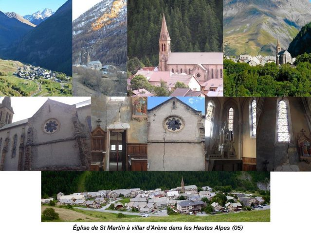 Eglise Saint Martin_Villar D'Arène