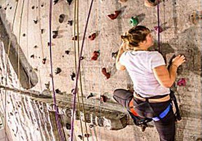 Mur d'escalade – Boulodrome