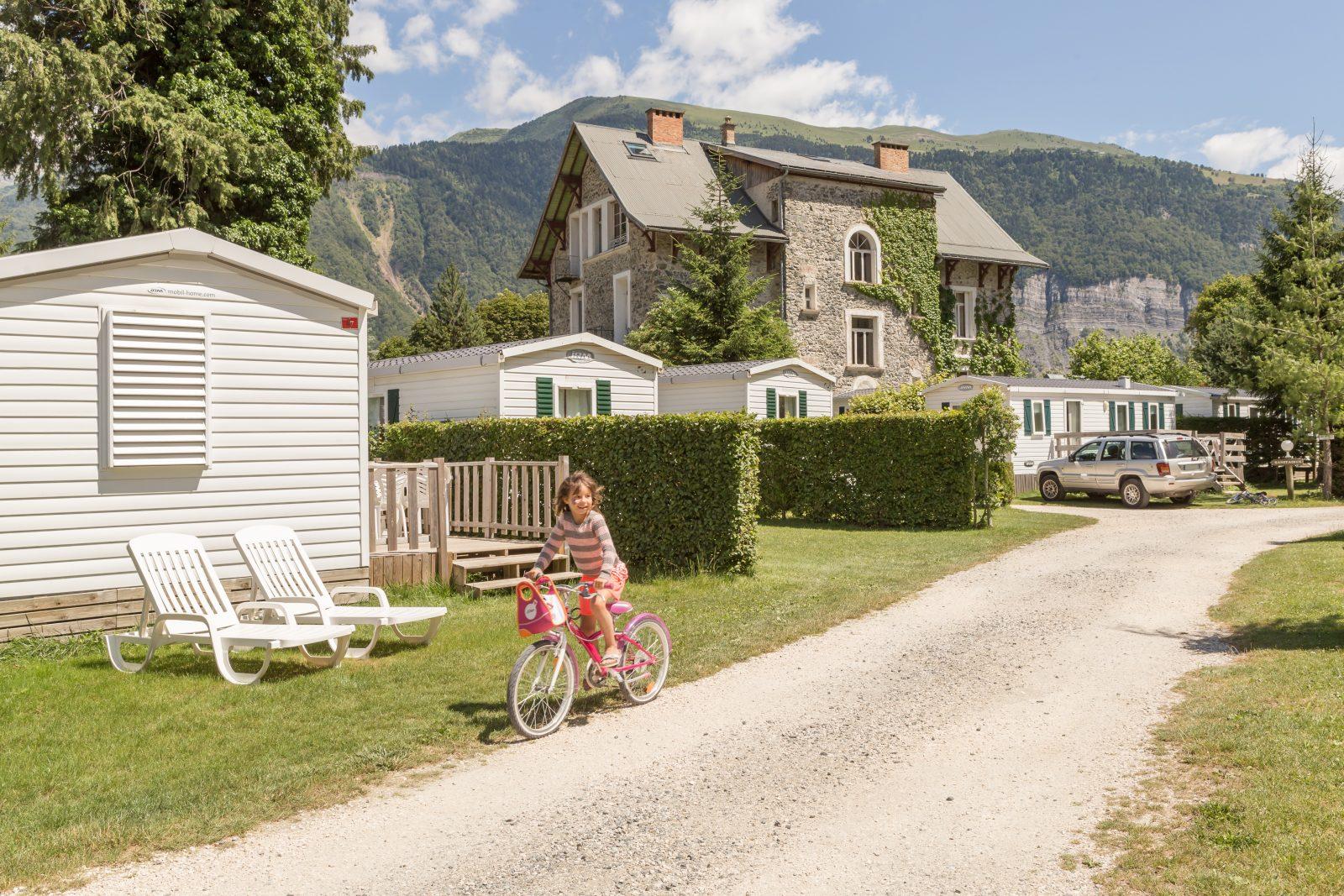 Camping le Chateau de Rochetaillée