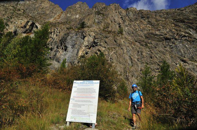 Via ferrata «Les mines du Grand Clot»