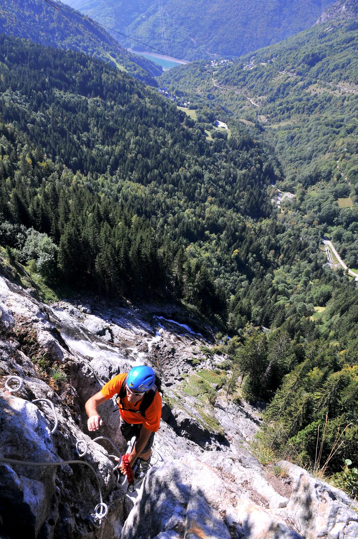 Via Ferrata de la Cascade de la Fare (2)