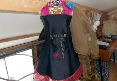 Visite de l'atelier Aniram Art Couture