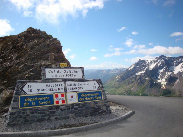 Le col du Galibier
