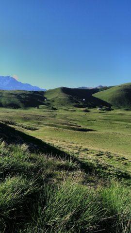 La source des Diounes – plateau d'Emparis