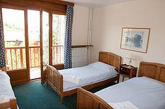 hôtel le chamois Alpe d'Huez chambre