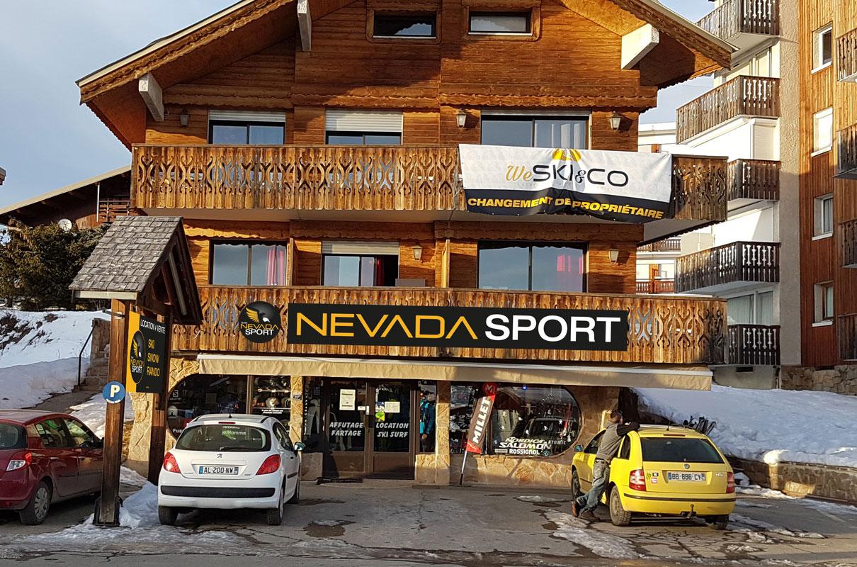 Névada Sports (Etendard)