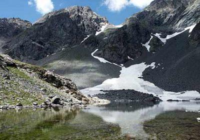Lac de Belledonne (par la cabane du Chazeau)