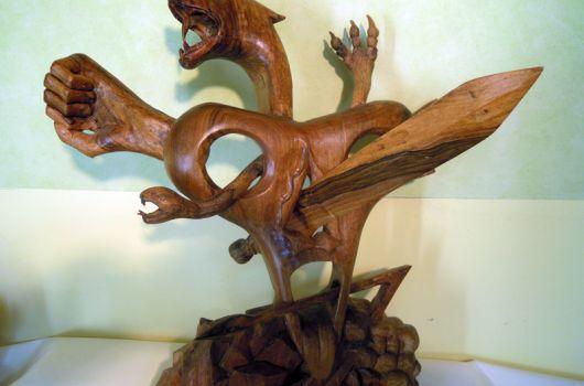 Initiation à la sculpture sur bois (2)