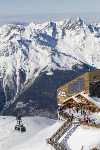 Visite commentée Pic Blanc hiver
