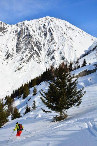 Ski de randonnée depuis Le Collet (Vaujany)