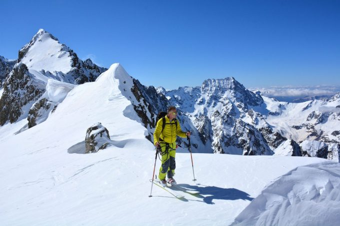 Ski de randonnée depuis La Bérarde