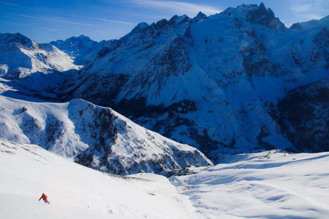 Ski de randonnée depuis Les Hières