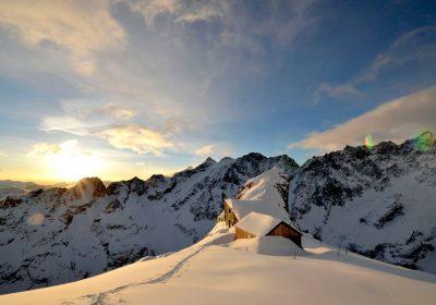 Ski de randonnée depuis Villar d'Arène (pont d'Arsine)