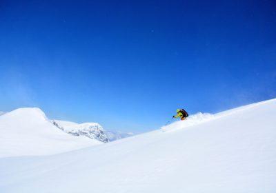 Ski de randonnée depuis le Rieu Claret / Belledonne