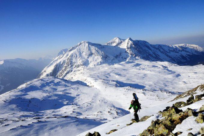 Ski de randonnée depuis la Grenonière (Ornon)