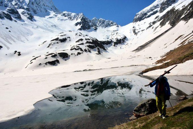 Ski de randonnée depuis Bourg d'Arud