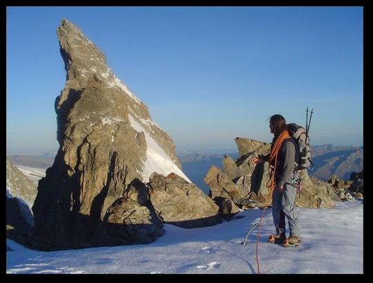 Stage Doigt de Dieu perfectionnement alpinisme avec le Bureau des Guides