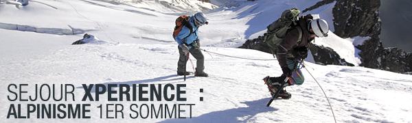 Séjour Xpérience Alpinisme 1er sommet (1)