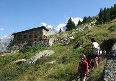 Soirée anglaise au refuge de l'Alpe du Pin