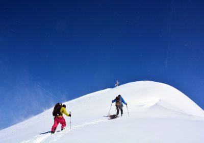 Ski de randonnée depuis Articol / Belledonne