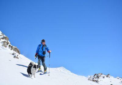 Ski de randonnée depuis le col du Glandon