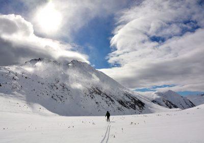 Ski de randonnée depuis Auris